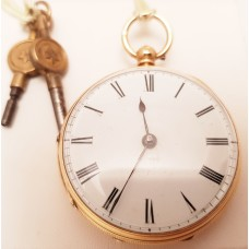 ANTIQUE ENGLISH POCKET WATCH
