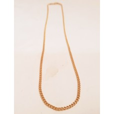 9ct GOLD CURB LINK CHAIN