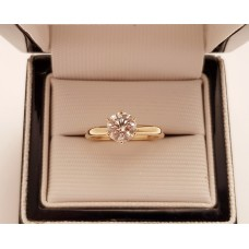 1ct, G COLOUR, 18ct GOLD RING