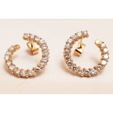 2ct T.W. of DIAMONDS, 18ct GOLD EARRINGS