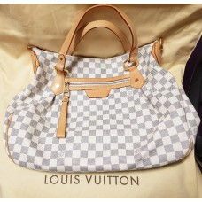 LOUIS VUITTON DAMIER AZURA CANVAS EVORA MM BAG