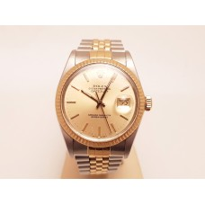 18ct GOLD & STAINLESS STEEL ROLEX DATEJUST