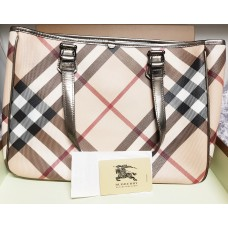 BURBERRY NOVA CHECK TOTE BAG