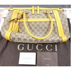 GUCCI GG TWO WAY TOTE BAG