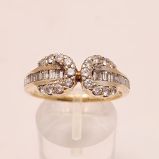 1ct of DIAMONDS, 18ct GOLD RING