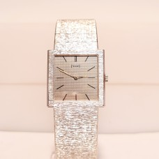 18ct WHITE GOLD PIAGET WATCH