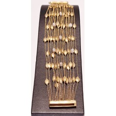 MARCO BICEGO 18ct GOLD & DIAMOND SIVIGLIA BRACELET