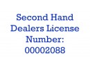 SecondHandDealers Lic